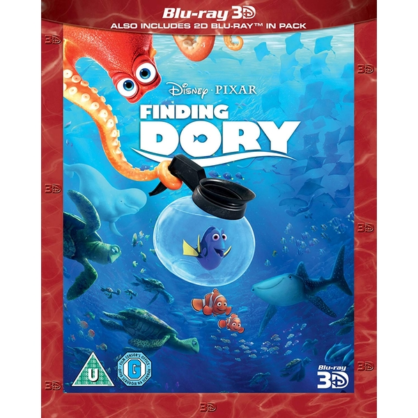 Finding Dory 3D Blu-ray + 2D Blu-ray