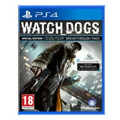 Watch Dogs Special Edition PS4 Game (Includes 60 Minutes of Extra Gameplay)