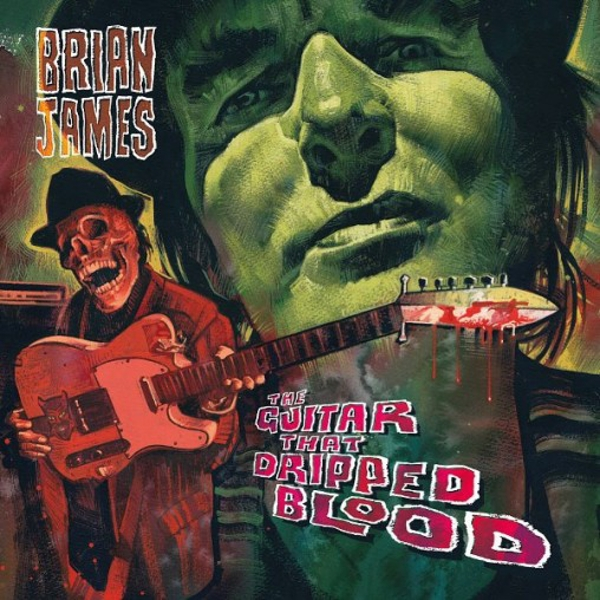 Brian James ‎- The Guitar That Dripped Blood Vinyl