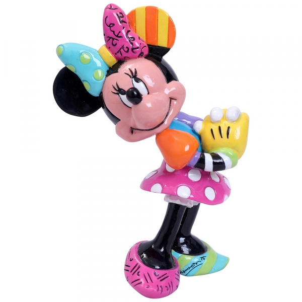 Minnie Mouse Blushing Disney Britto Mini Figurine - Image 1