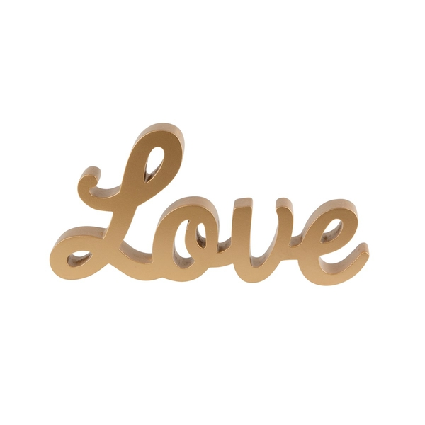 Sass & Belle Gold Love Standing Letters