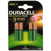 Duracell HR3-B AAA 750mAh Rechargeable 4 Pack