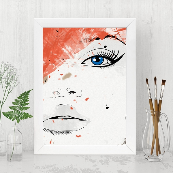 BC848730965 Multicolor Decorative Framed MDF Painting