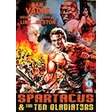 Spartacus And The Ten Gladiators DVD