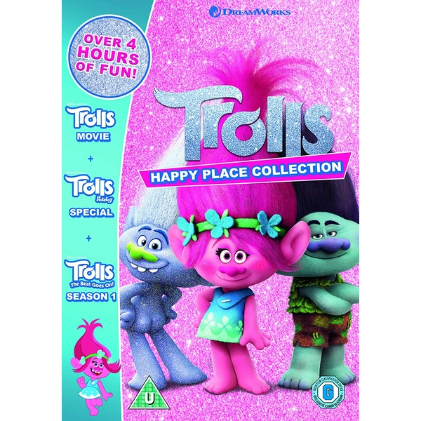 Trolls: Happy Place Collection DVD
