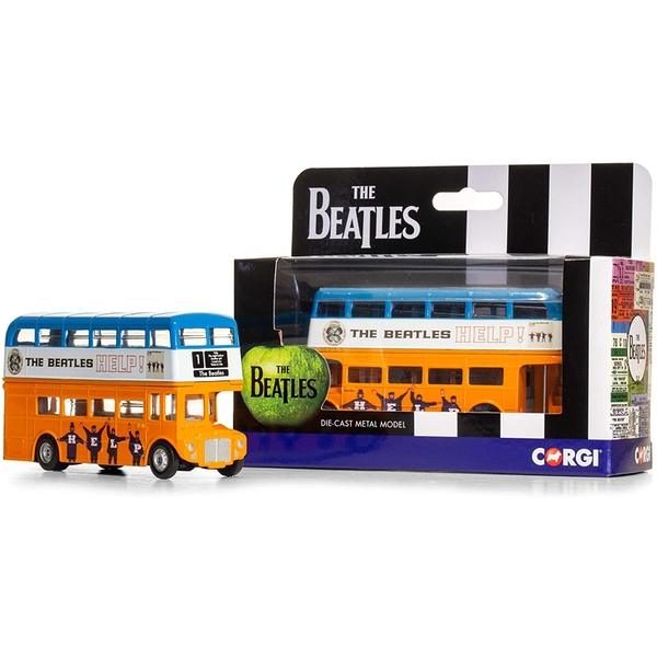 Corgi The Beatles Help London Bus Diecast Model