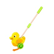 Wooden Duck Push Along Toy