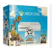 Limited Edition White Xbox One Sunset Overdrive Console Bundle (without Kinect sensor)