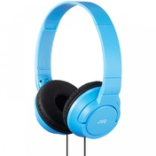 JVC HAS180AN Powerful Bass Headphones Blue