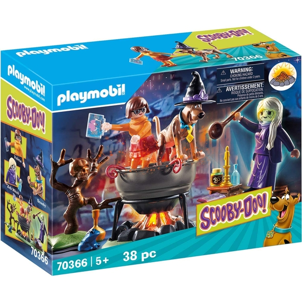 Playmobil Scooby Doo! Adventure in the Witch's Cauldron [Damaged Packaging]
