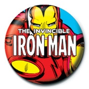 Marvel - Iron Man Badge
