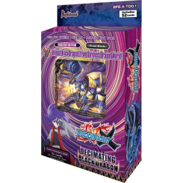 Buddyfight TCG: Decimating Black Dragon Vol.1 Trial Deck