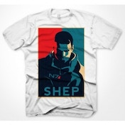 Mass Effect 3 Earths Only Hope T-Shirt Large