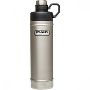 Stanley Classic Vacuum Water Bottle, Stainless Steel - 750ml