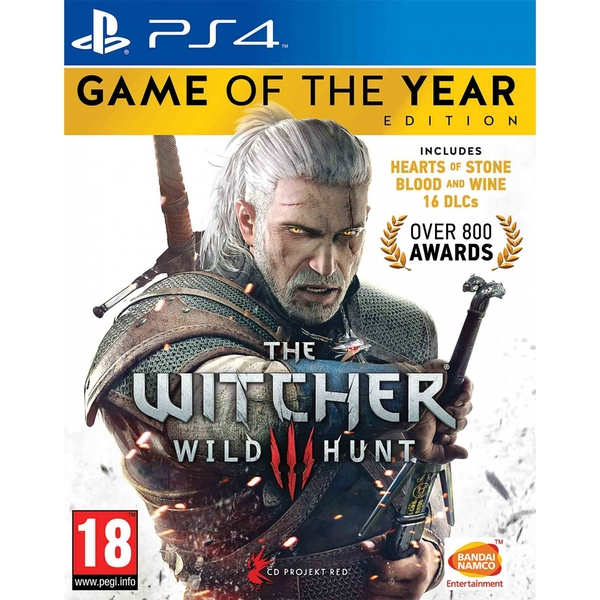 The Witcher 3 Wild Hunt Game Of The Year (GOTY) PS4 - Image 1