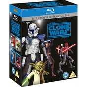 Star Wars The Clone Wars - The Complete Seasons 1-4 Blu-ray
