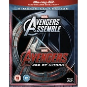 Avengers Age Of Ultron / Avengers Assemble Doublepack 3D and 2D Blu-ray