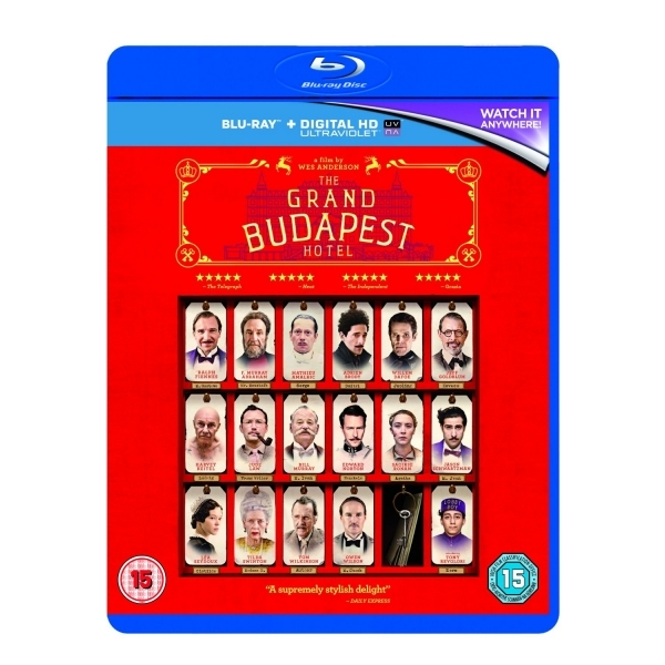 The Grand Budapest Hotel Blu-ray + UV Copy