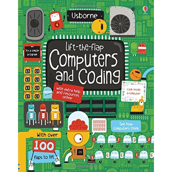 Lift-the-Flap Computers and Coding by Rosie Dickins (Board book, 2015)