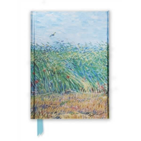 Van Gogh: Wheat Field with a Lark (Foiled Journal)