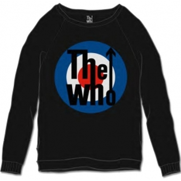The Who Target Classic Black Mens Sweatshirt Size: Small