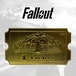 Fallout Nuka-Cade 24K Gold Plated Ticket - Image 3
