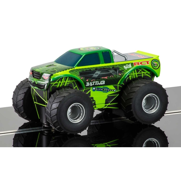 Team Monster Truck Rattler (Green) 1:32 Scalextric Super Resistant Car