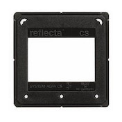 Reflecta Mounts, 24x36, 200, Glassless and One Piece, Black