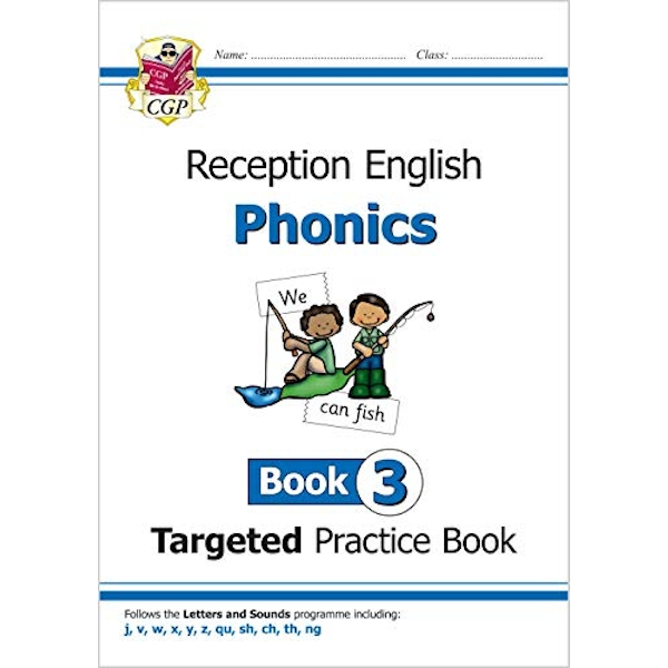 English Targeted Practice Book: Phonics - Reception Book 3  Paperback / softback 2018