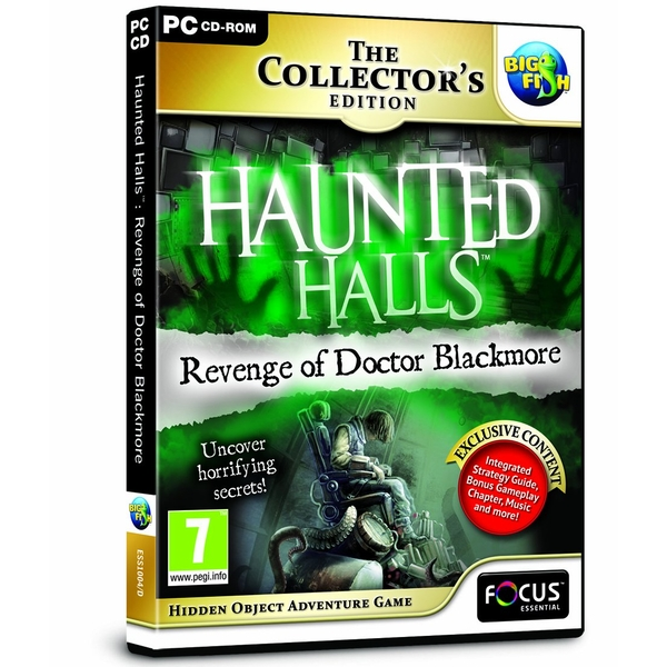 Haunted Halls Revenge of Doctor Blackmore Collector's Edition PC Game