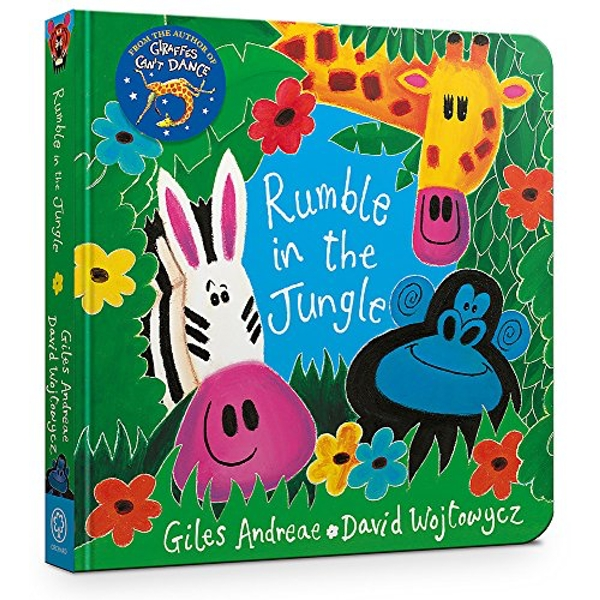 Rumble in the Jungle: Board Book by Giles Andreae (Board book, 2017)