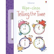 Wipe-Clean Telling the Time by Jessica Greenwell (Paperback, 2013)