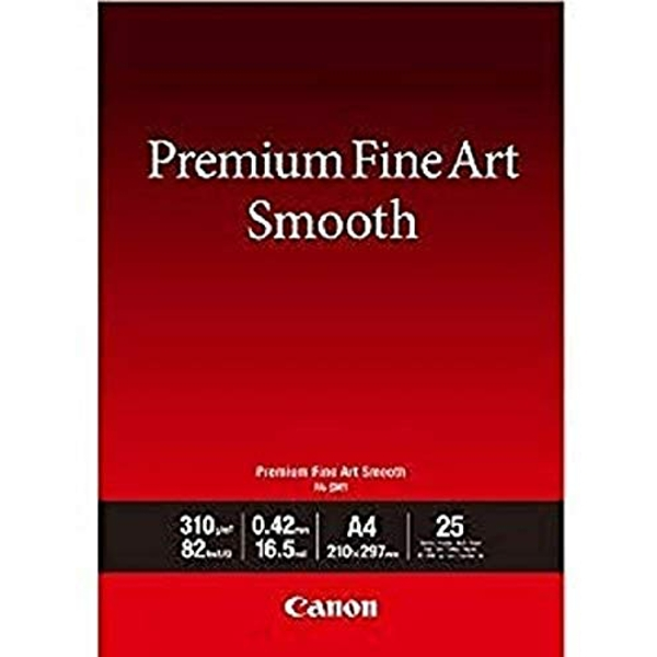 Canon consumable Fine Art photo paper FA-SM1 A4 25 sheets