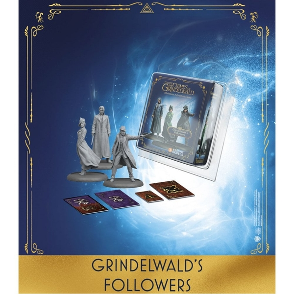 Harry Potter Miniatures Adventure  Grindelwald's Followers Expansion