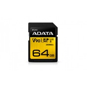 ADATA Premier ONE 64GB SDXC Card, UHS-II Class 10 (U3)