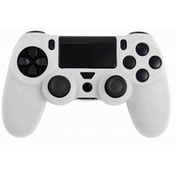 ORB PS4 Controller Silicone Skin Cover for Playstation 4 (White)