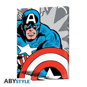 Marvel - Captain America Pop Art Canvas