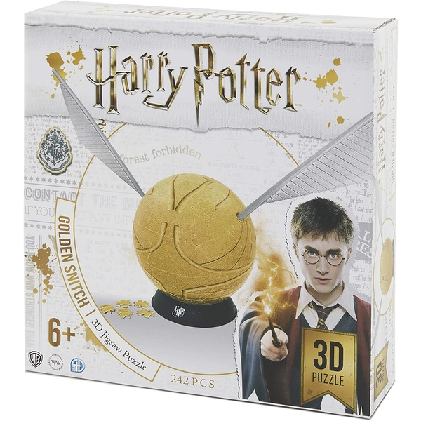 4D Cityscape Harry Potter Snitch Spherical 6 Inch Puzzle