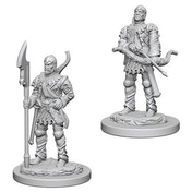 Pathfinder Deep Cuts Unpainted Miniatures (W4) - Town Guards