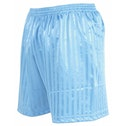 Precision Striped Continental Football Shorts 38-40 inch Sky Blue
