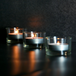 12 X Circle Tea Light Candle Holder | M&W - Image 7