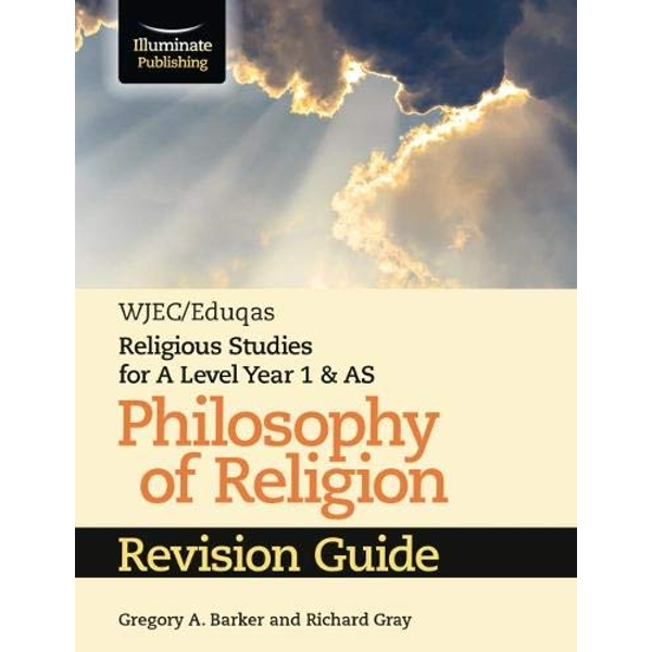 WJEC/Eduqas Religious Studies for A Level Year 1 & AS - Philosophy of Religion Revision Guide  Paperback / softback 2019