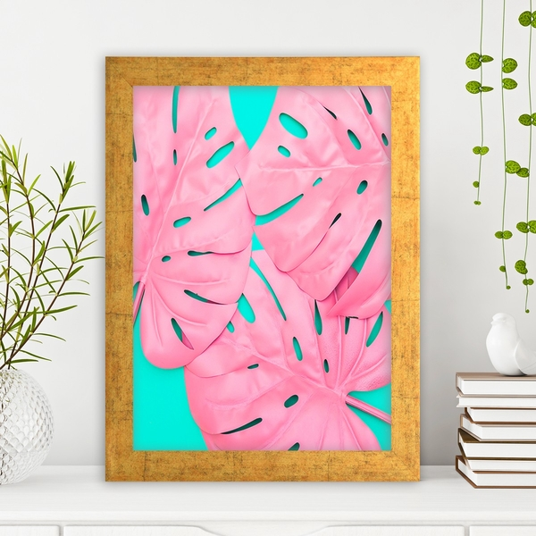 AC1054587572 Multicolor Decorative Framed MDF Painting