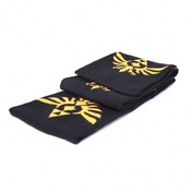 Nintendo Legend of Zelda Skyward Sword Royal Crest Black Scarf