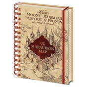 Harry Potter - The Marauders Map Notebook