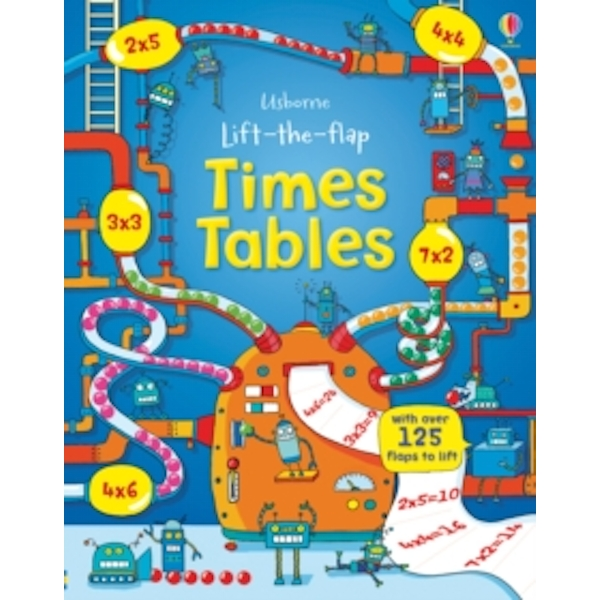 Lift the Flap Times Tables Book by Rosie Dickins (Hardback, 2014)