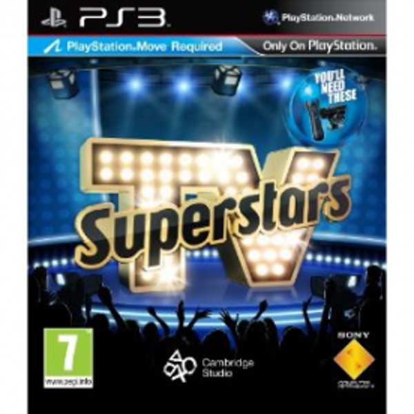 Playstation Move TV Superstars Game PS3 - Image 1
