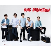 One Direction Amps Mini Poster