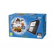 Nintendo Handheld Black Blue Console 2DS with Yo Kai Watch (UK PLUG)