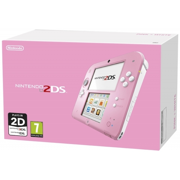 Nintendo 2DS Handheld Console Pink